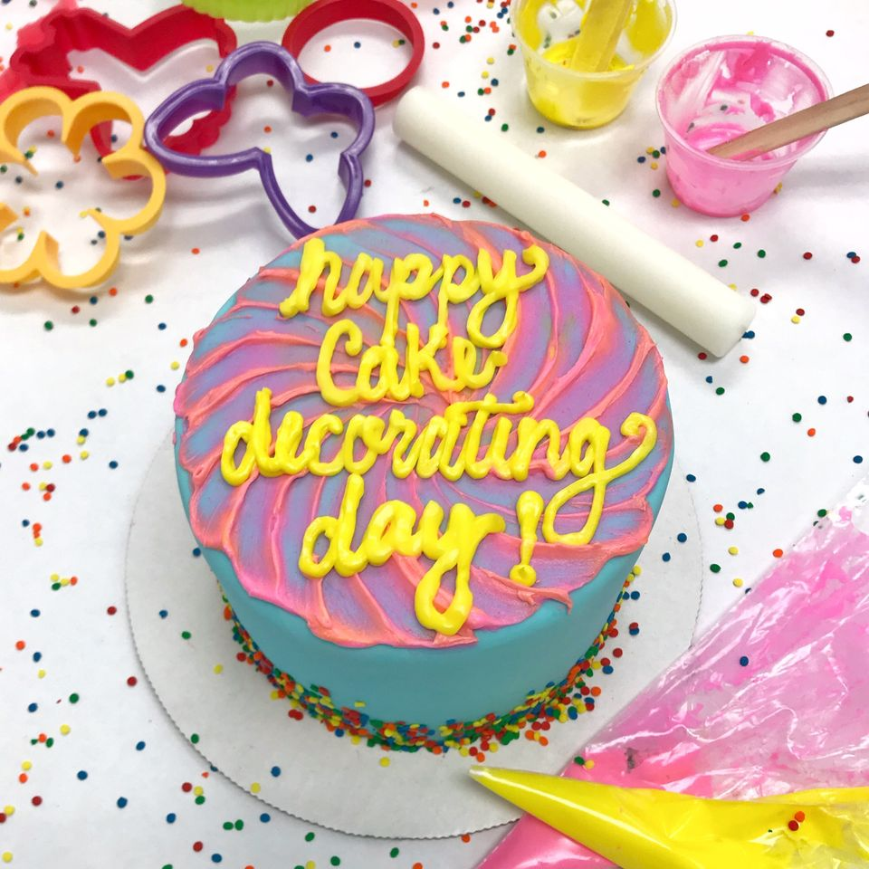 National Cake Decorating Day Wishes
