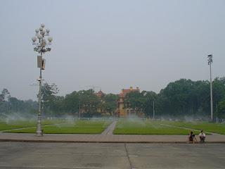 Hanoi Vietnam fotos parque del mausoleo Ho Chi Minh