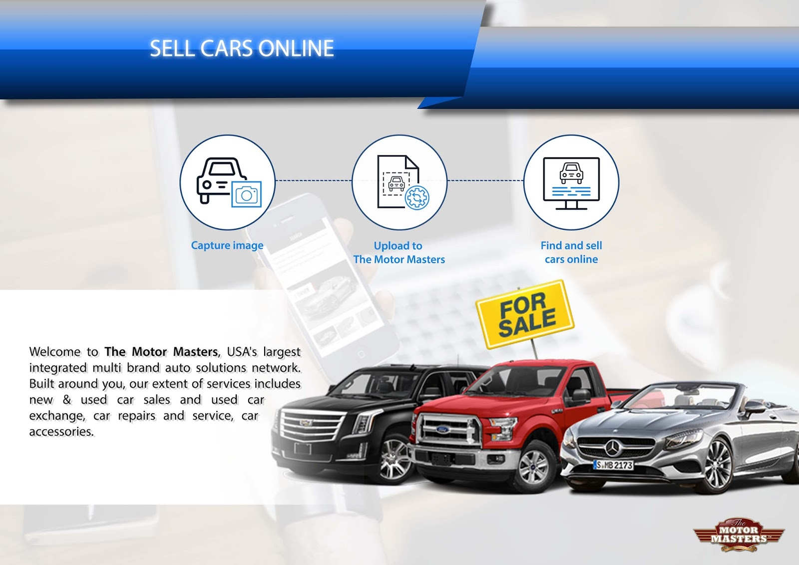 Best Place to Sell Your Car Online : The Motor Masters | Best Online ...