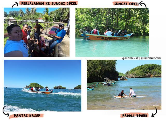 Susur Sungai Cokel dan Pantai Kasap