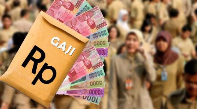 Gaji 13 PNS Dibayar Juni, Uang THR DIbayar Juli