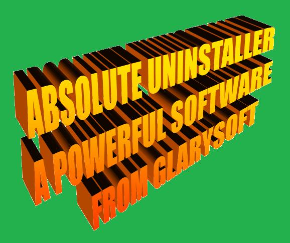 http://www.wikigreen.in/2014/06/absolute-uninstaller-from-glarysoft.html