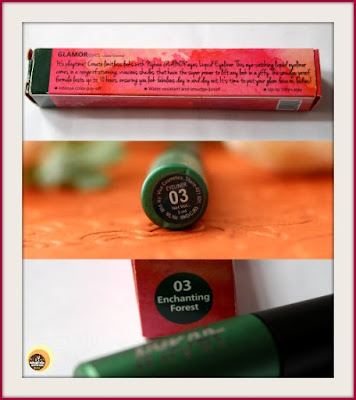 Nykaa GLAMOReyes Liquid Eyeliner 03 Enchanting Forest Packaging