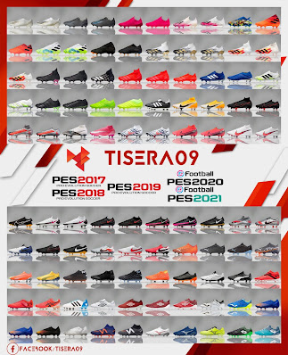 PES 2017 New Bootpack 2020/2021 by Tisera09
