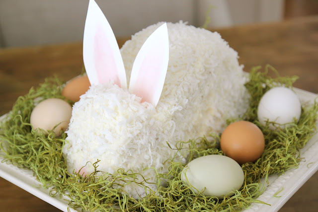 ... : Easter Bunny Cake | Continuing Granny's Tradition | Coconut Cake