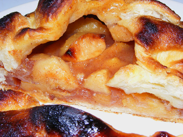 Apple galette. Cooked and photographed by Susan Walter. Tour the Loire Valley with a classic car and a private guide.