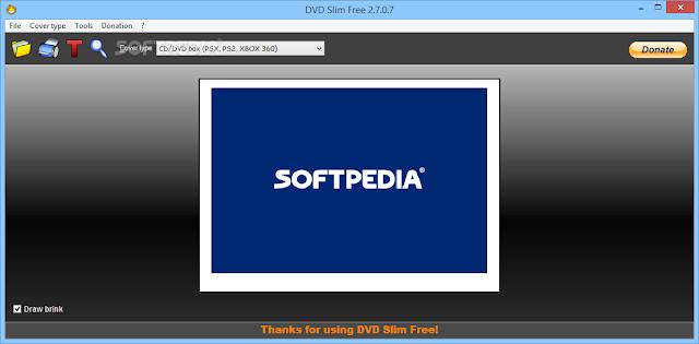 تحميل برنامج تصميم ايقونة الاسطوانات DVD Slim Free 2.7