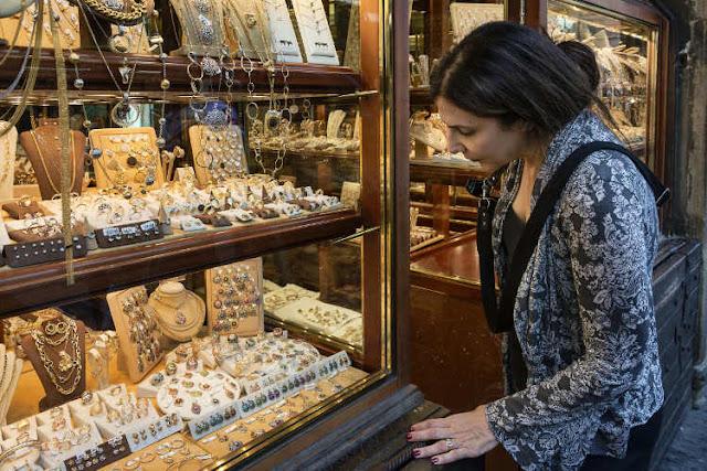 Compras de lembrancinhas e souvenirs em Florença