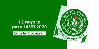 How to pass JAMB 2021