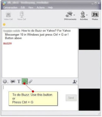 Yahoo Messenger BUZZ