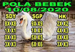 syair sydney pola bebek 10 agustus 2020