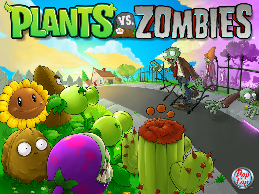 Plants v Zombies-I received a fix from a concerned family member