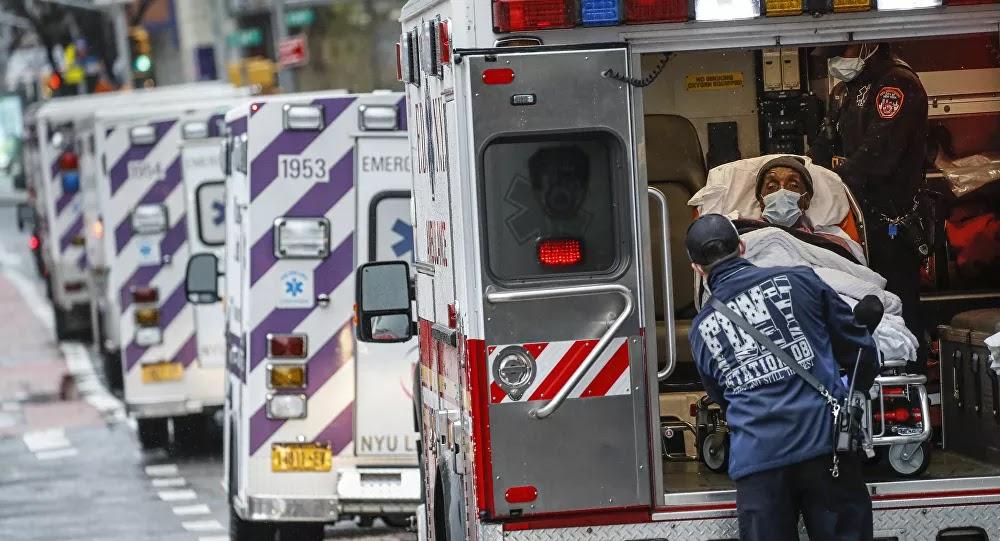 الولايات المتحدة الأمريكية تسجل أكبر حصيلة وفيات كورونا في يوم واحد