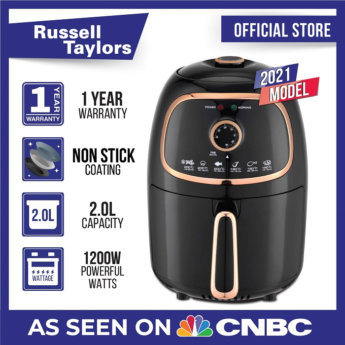 Russell Taylors Mini Air Fryer 2L AF-20