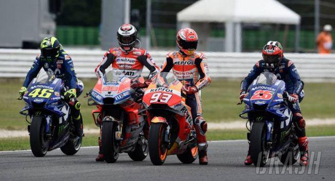 Hasil Kualifikasi MotoGP San Marino Misani Italia 2018: Lorenzo, Miller, Vinales.