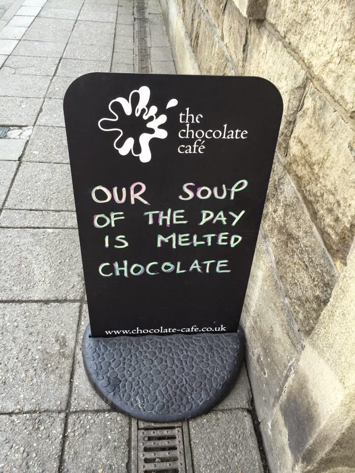 Its Grim Up North The Chocolate Cafe Ramsbottom By Hannah