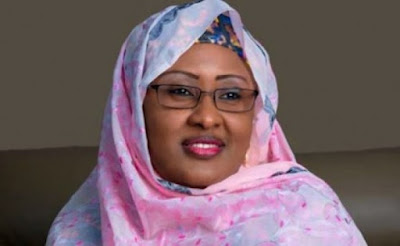 Aisha Buhari deletes 'a mad dog that isn't chained' tweets targeted at Fayose