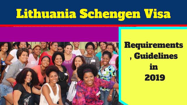 Lithuania Schengen Visa