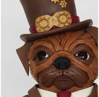 Steam Pug - Le Retour du Carlin Grincheux - Rob Baker-Gall de Mr Baker's Cakes