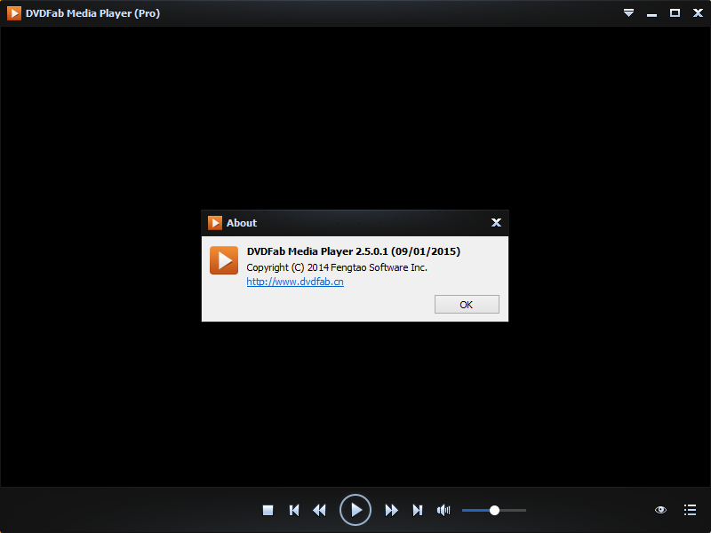 DVDFab Media Player (Pro) 2.5