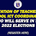 ORIENTATION OF TEACHERS AND SCHOOL ICT COORDINATORS WHO WILL SERVE IN THE 2022 NATIONAL AND LOCAL ELECTIONS