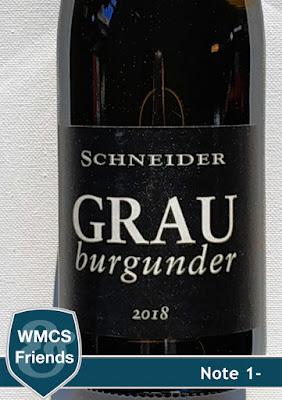 Markus Schneider Grauburgunder trocken Pfalz 2018