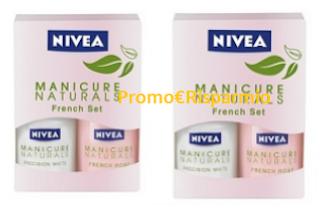 Logo Diventa tester Nivea Manicure Naturals French Set