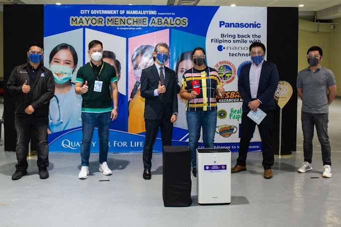 Panasonic and Mandaluyong City join hands to bring back the Filipino smile with nanoeTM X technology
