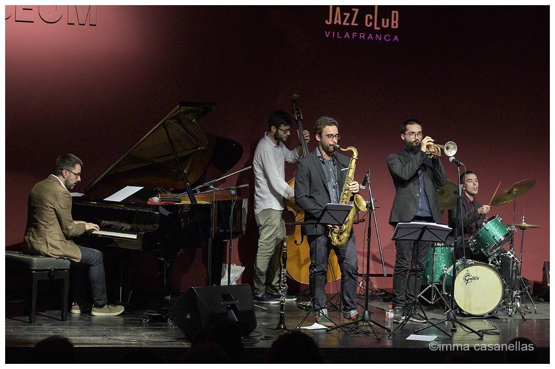 Lluc Casares Quintet, Auditori Vinseum, Vilafranca del Penedès, 14-des-2019