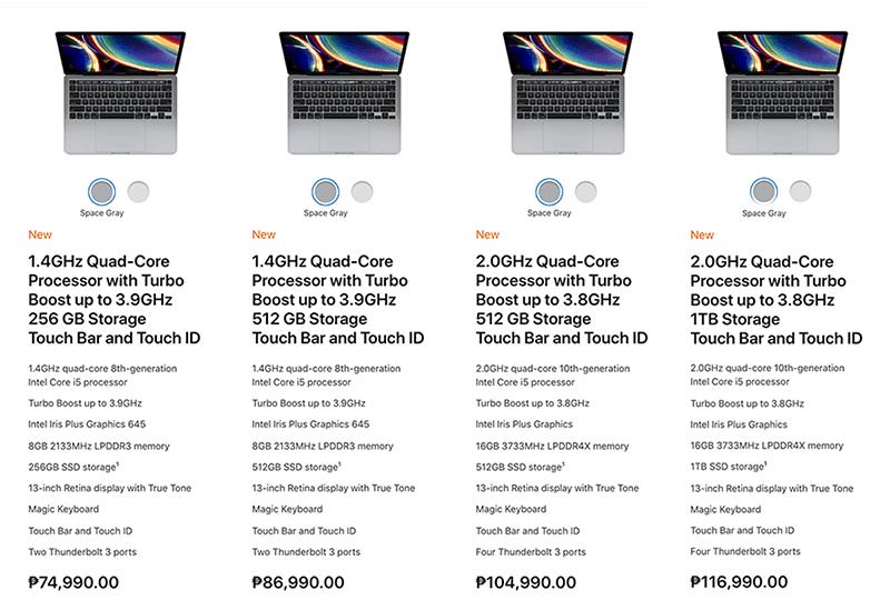 Updated Macbook Pro 13-inch