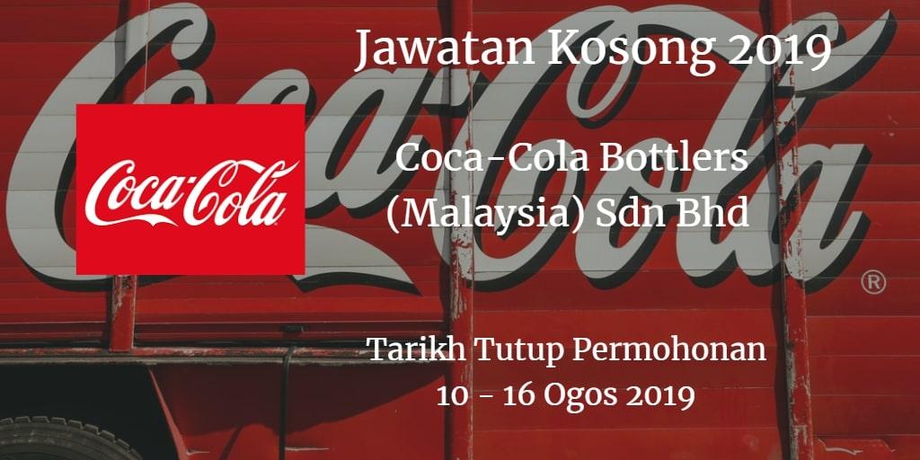 Jawatan Kosong Coca-Cola Bottlers (Malaysia) Sdn Bhd 10 - 16 Ogos 2019