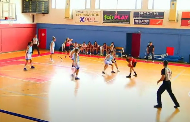 Με νίκη πέρασε από την Χίο η γυναικεία ομάδα μπάσκετ του Οίακα Ναυπλίου (βίντεο)