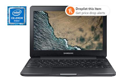 """SAMSUNG 11.6"""" Chromebook 3, Intel Celeron N3060, 4GB RAM, 16GB eMMC"""