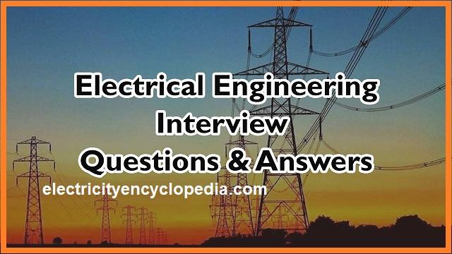كتاب أسئلة المقابلات الشخصية (interview) فى الهندسة الكهربية