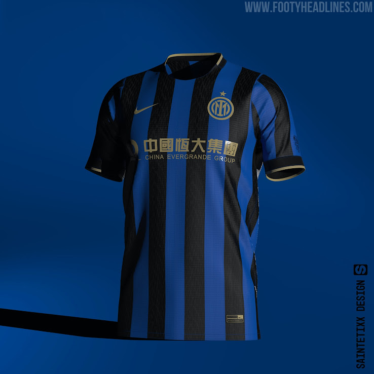 Inter Milan 21-22 Concept Home, Away & Third Kits With New Club ...