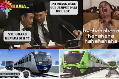 Ahok Mengkritik Kembali Usaha Sumarsono yang Mengganti Desain Bentuk Kepala MRT