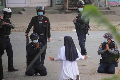 myanmar Nun