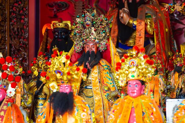 順澤宮最特別的泥雕玄天上帝神像,迄今已有五十年歷史