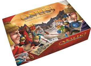 el juego de mesa Onus Roma vs Cartago