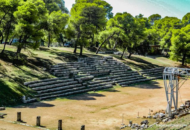 Estádio do Santuário de Asclépio (Asklepeion), Epidauros, Grécia