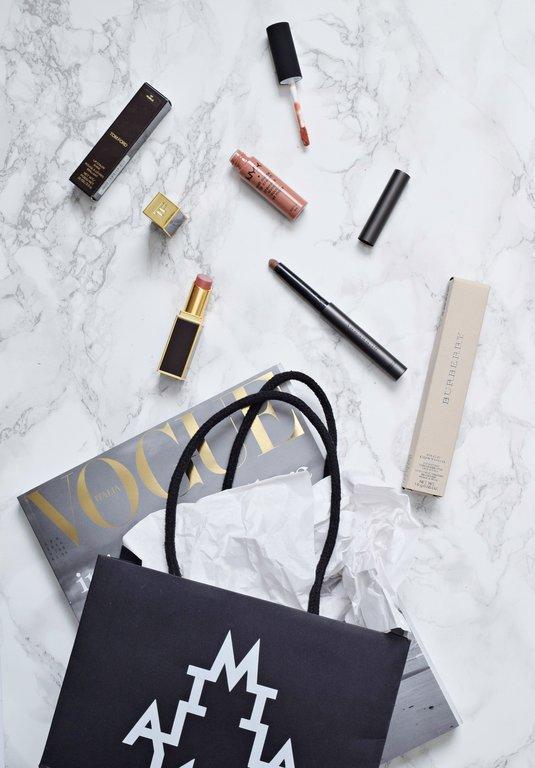 milan makeup haul, high end makeup haul, may makeup haul