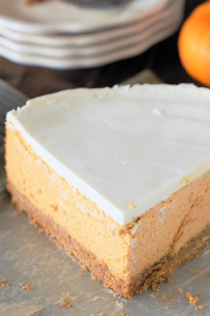 Creamy Pumpkin Cheesecake photo