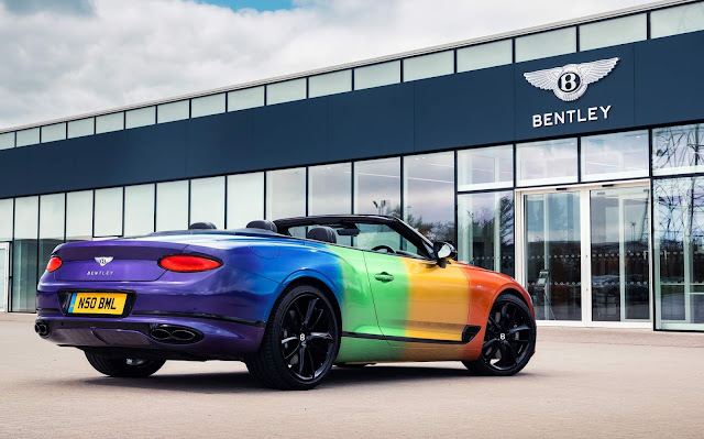 Bentley Continental GT V8 Rainbow - Orgulho LGBTQ+