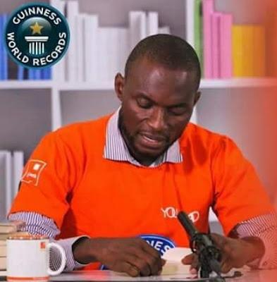 bayode olawunmi guinness world records holder