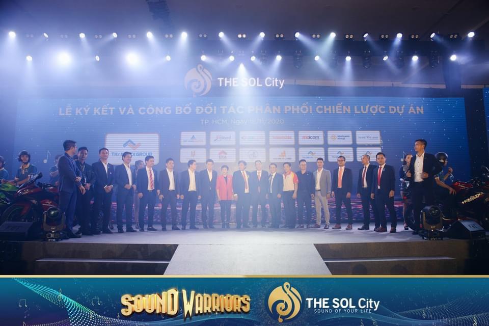 Ký kết và công bố Đơn vị phân phối dự án THE SOL City