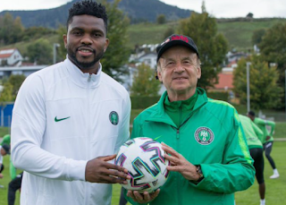 Rohr reveal Why Super Eagles won't win World Cup anytime soon
