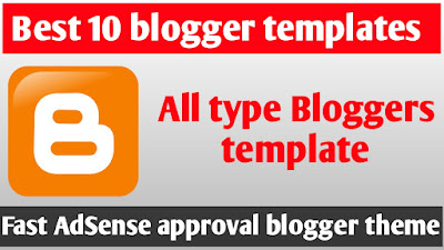 Top 10 Seo Friendly Best Blogger Template