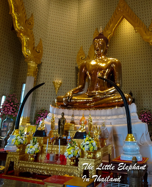 Golden Buddha in Bangkok - Thailand