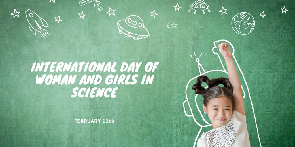 International Day of Women and Girls in Science Wishes Unique Image
