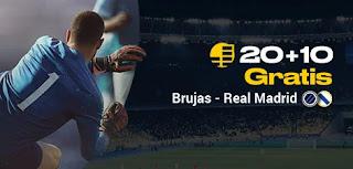 bwin promocion Brujas vs Real Madrid 11-12-2019